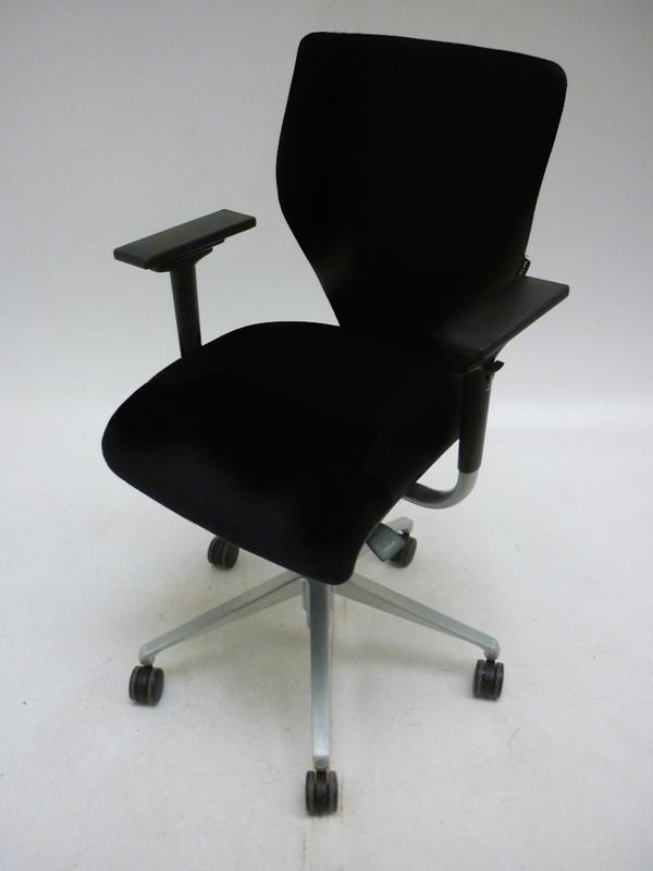 Black Orangebox X10 task chair with arms