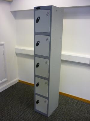 5 door steel lockers