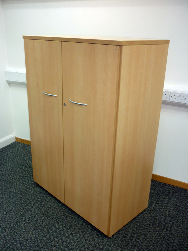 Sven beech cupboard