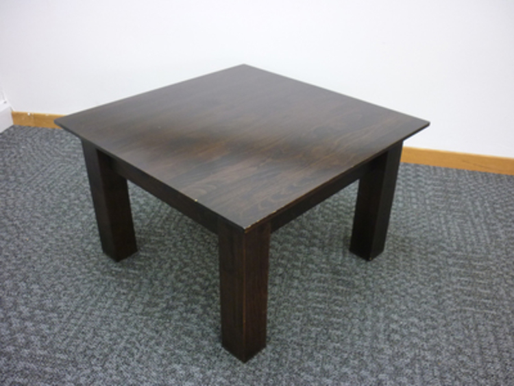 400h x 650w x 650d mm Wood coffee table (CE)