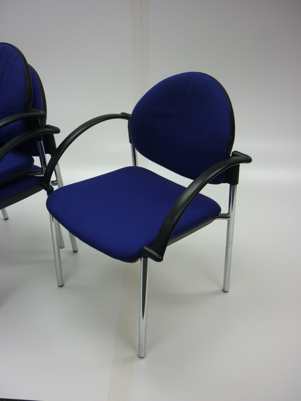 Blue Verco Focus meeting chairs
