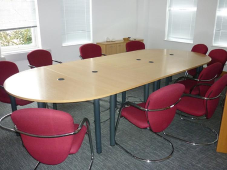 Beech modular tables