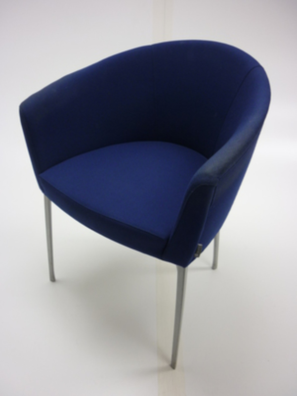 Tacchini Tub Style Meeting Chairs Second Hand Office