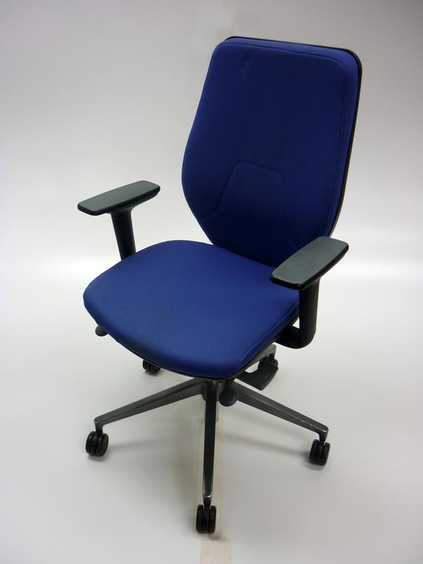 Light blue Orangebox Joy highback task chairs