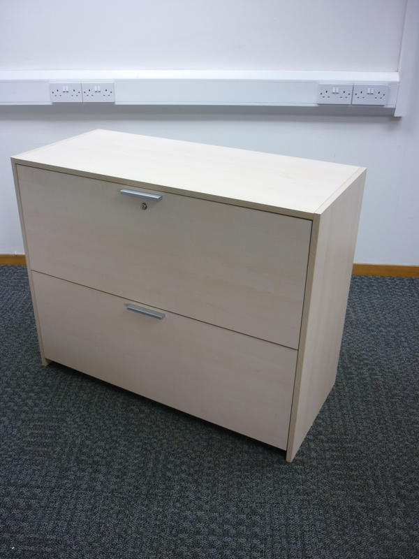 Maple 2 drawer side filer