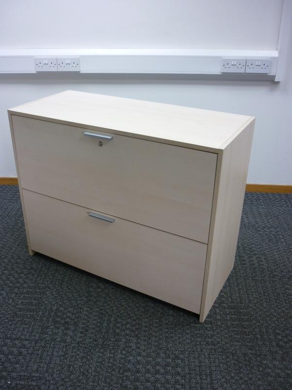 Maple 2 drawer side filer