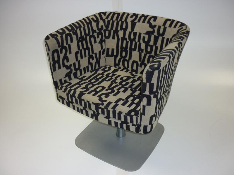 Segas Alphabet RO swivel tub chair (CE)