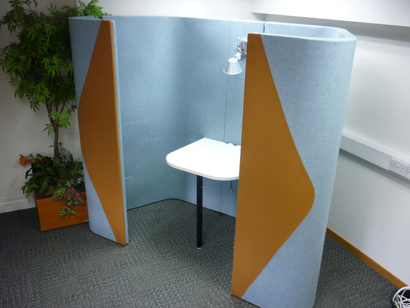 Allermuir Haven full height Duo pod