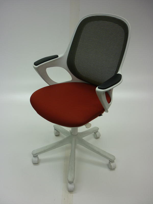Verco Salt & Pepper terracotta task chair  (CE)