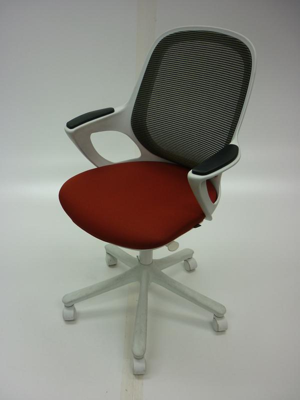 Verco Salt & Pepper terracotta task chair (CE)