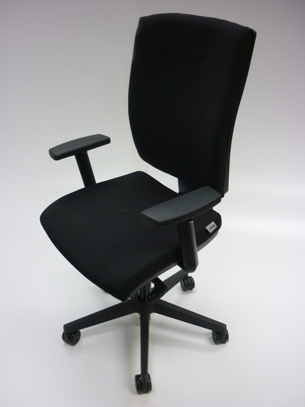 Black Rim Anatom task chairs