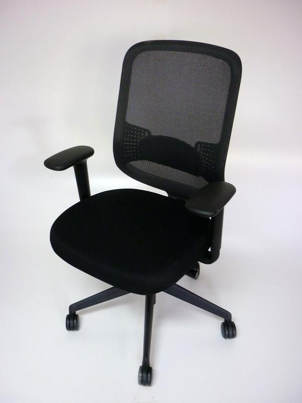 Black Orangebox DO mesh back task chair