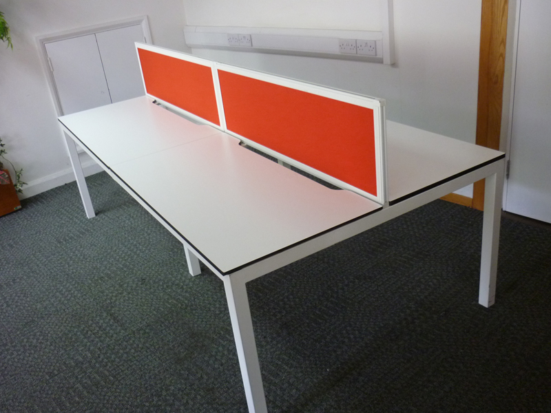 Techo Alfa 200 series 1200x600mm compact bench desking