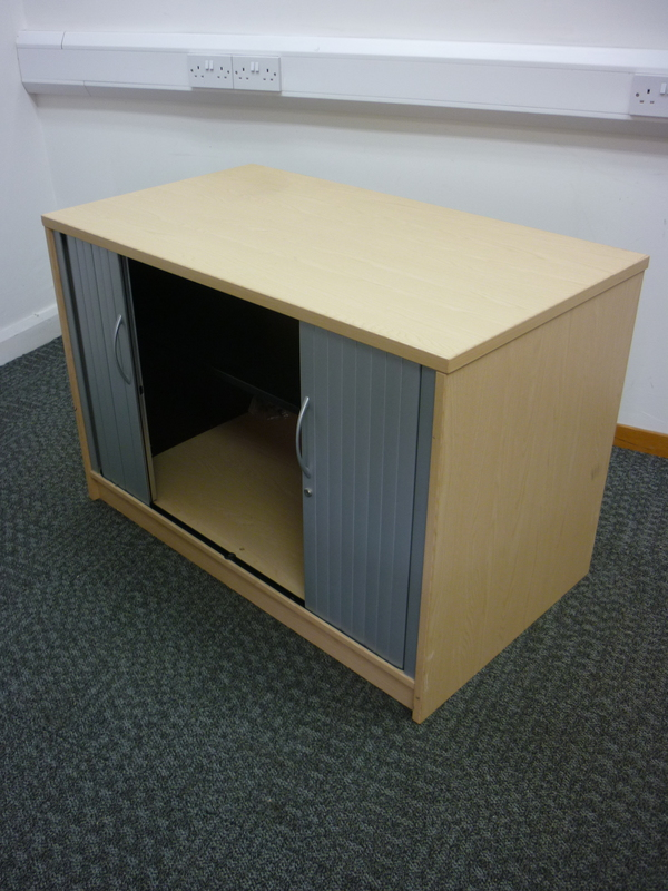 Desk high Kassini tambour cupboard