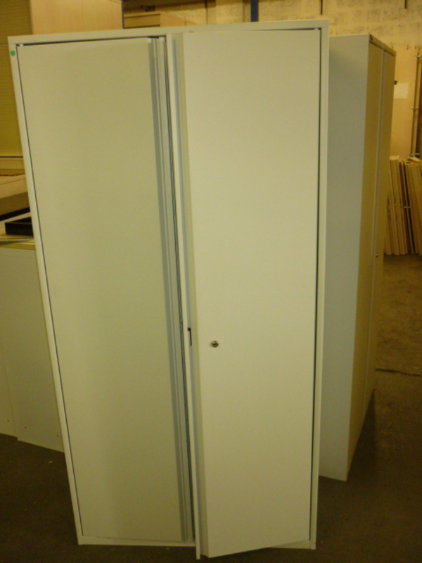 Metal double door cupboards