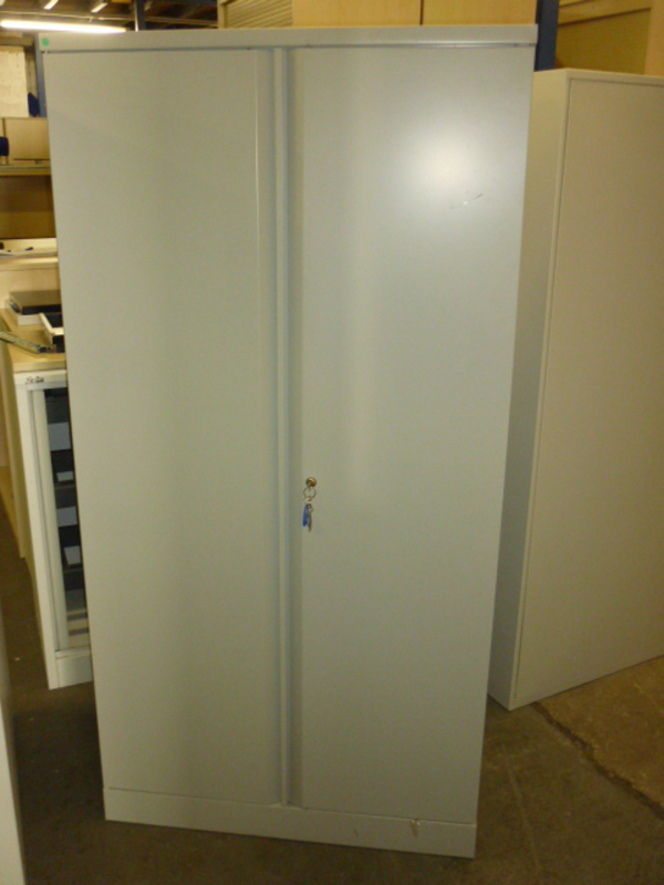 Metal double door cupboard