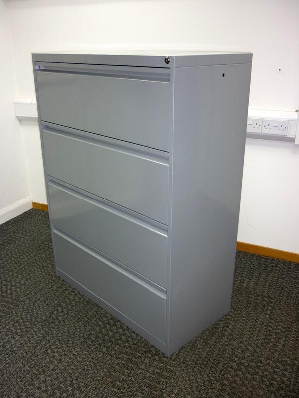 Emmein 4 drawer silver side filer