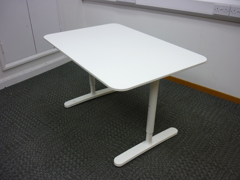 1200x800mm white rectangular desk