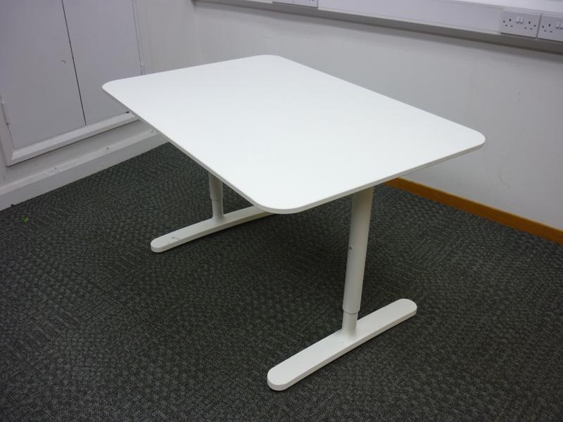 1200x800mm white rectangular desk