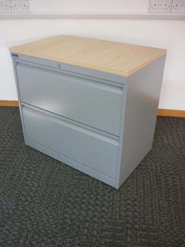 Silverline two drawer side filer CE