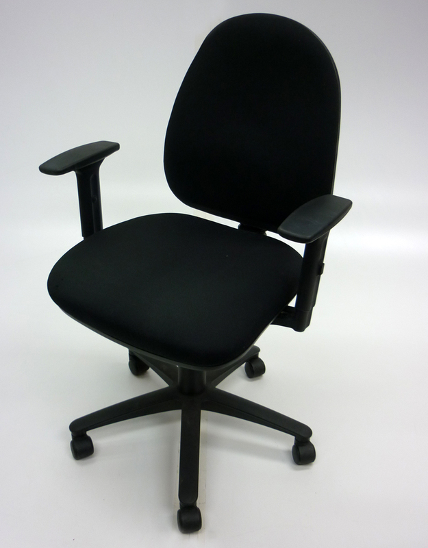 Black Summit SC506 2 lever operator chairs