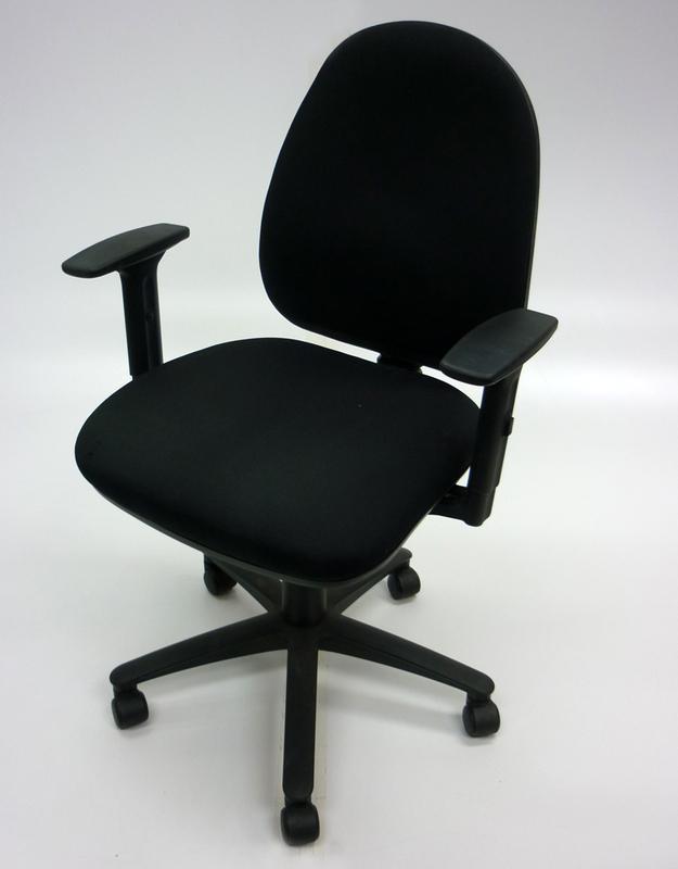 Black Summit SC506 2 lever operator chairs