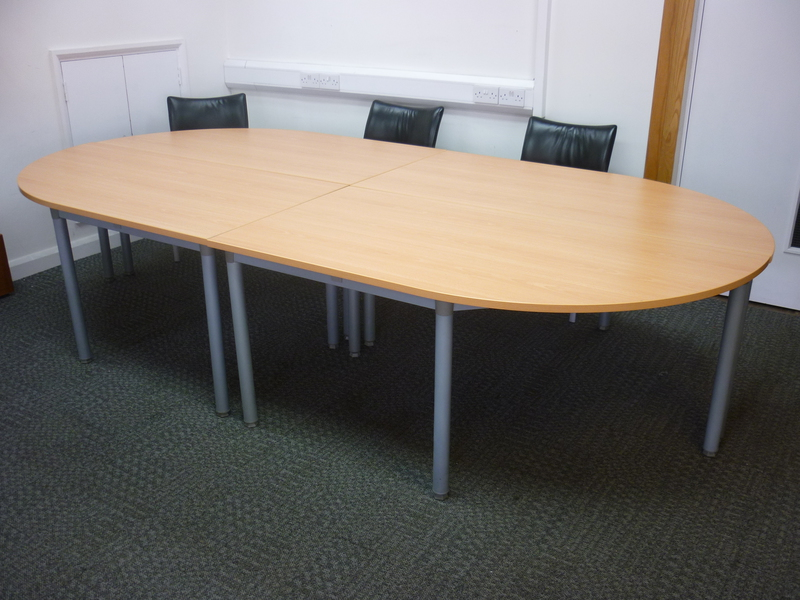 Second Hand New And Used Office Furniture Recycled Business Furniture - Modular conference table system