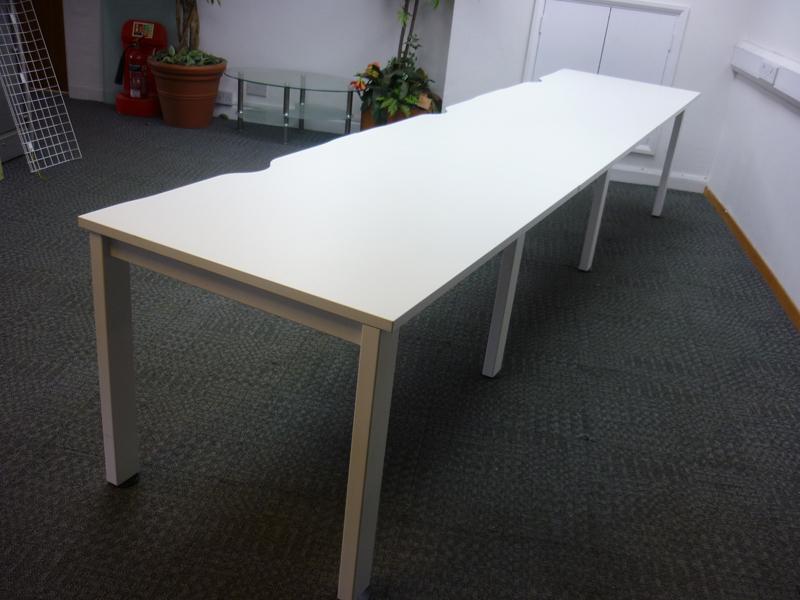 Freeway single bench desking