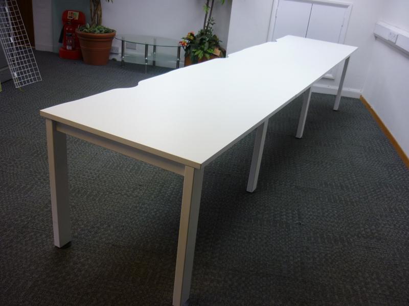 Freeway single bench desking