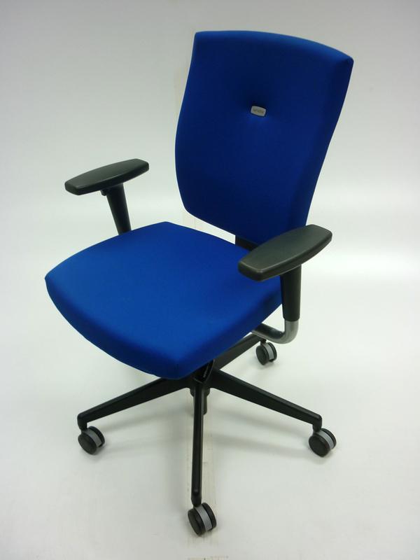 Royal blue Senator Sprint task chair