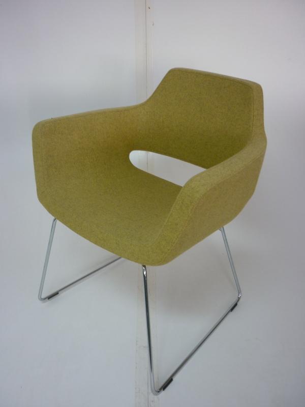 Light green Techo Nano chair