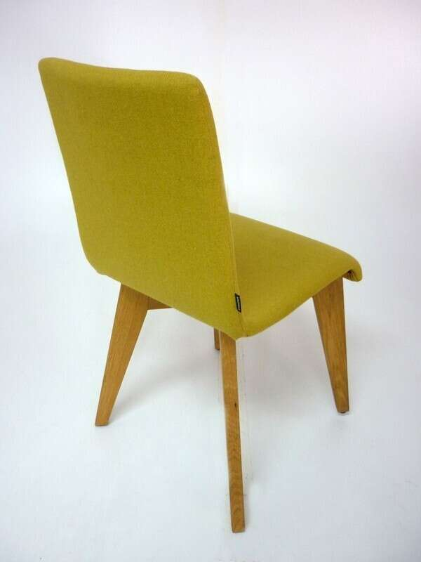 Frovi Jig lime green meeting/dining chair