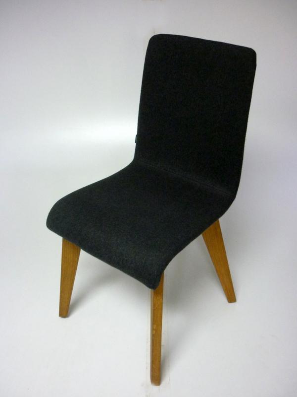 Frovi jig dark grey meetingdining chair
