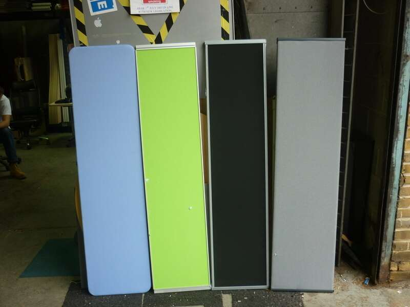 Assorted desk mounted screens from