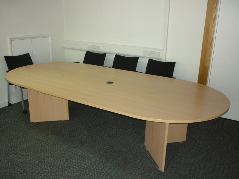 Beech conference table