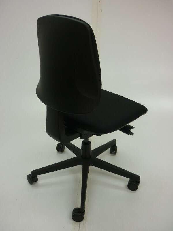 AS NEW Black Nomique Tally 2 operator chairs no arms