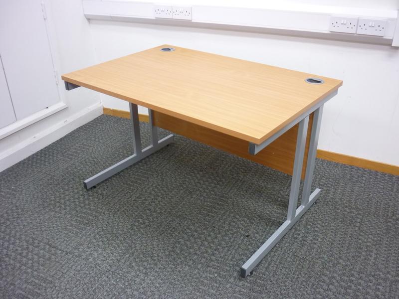 1200x800mm beech Gresham desks