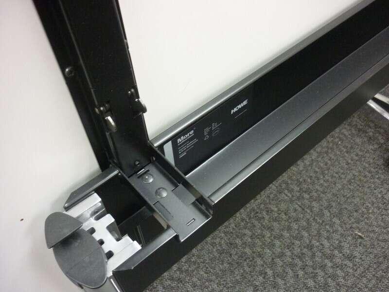 Howe More maple 1600x800mm top tilt conference tables