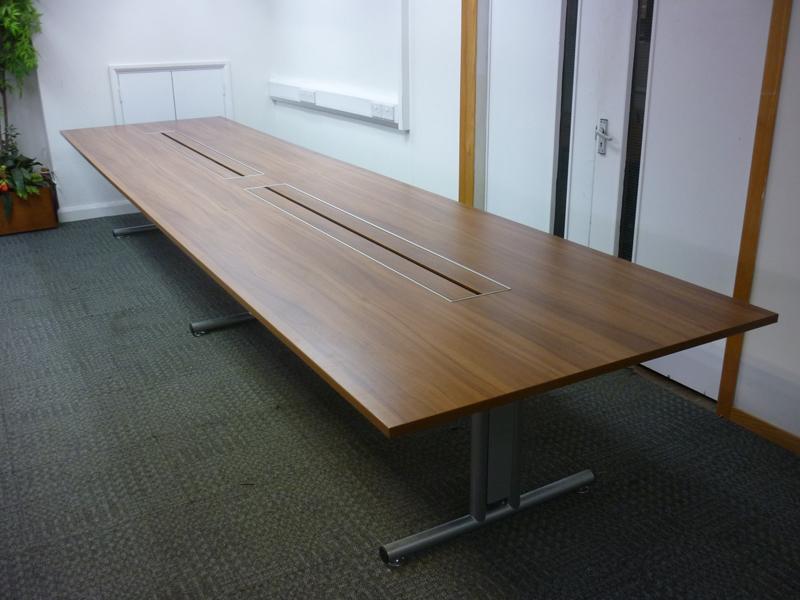 5000x1200mm walnut Sven Ambus boardroom table