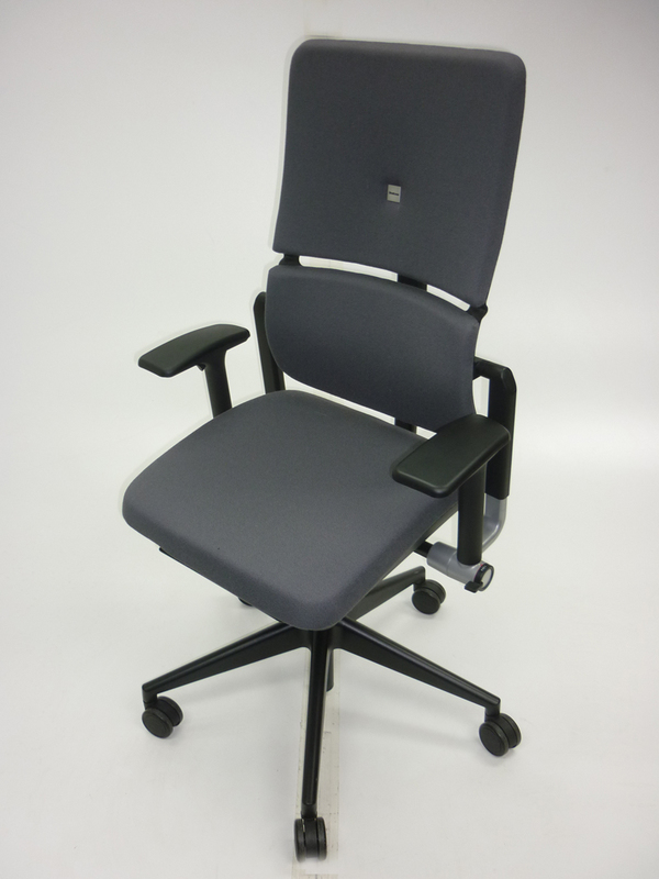 Steelcase Please v2 grey task chair