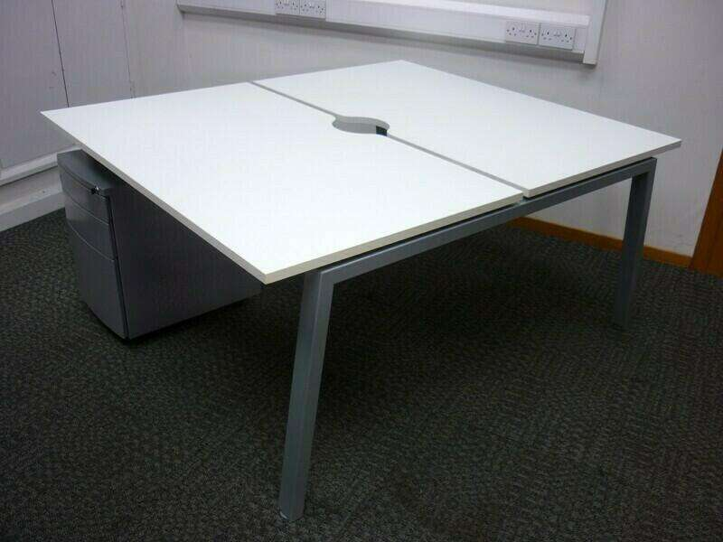 Flexiform Jot white 1200 and 1400mm pairs and singles, per person