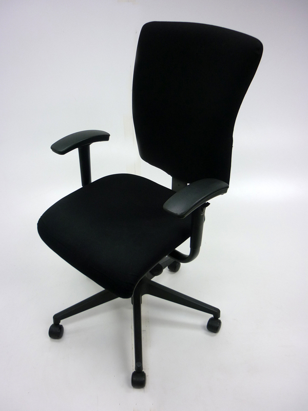 Black Orangebox Go task chair with arms