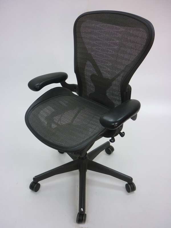 Herman Miller Aeron tuxedo task chair