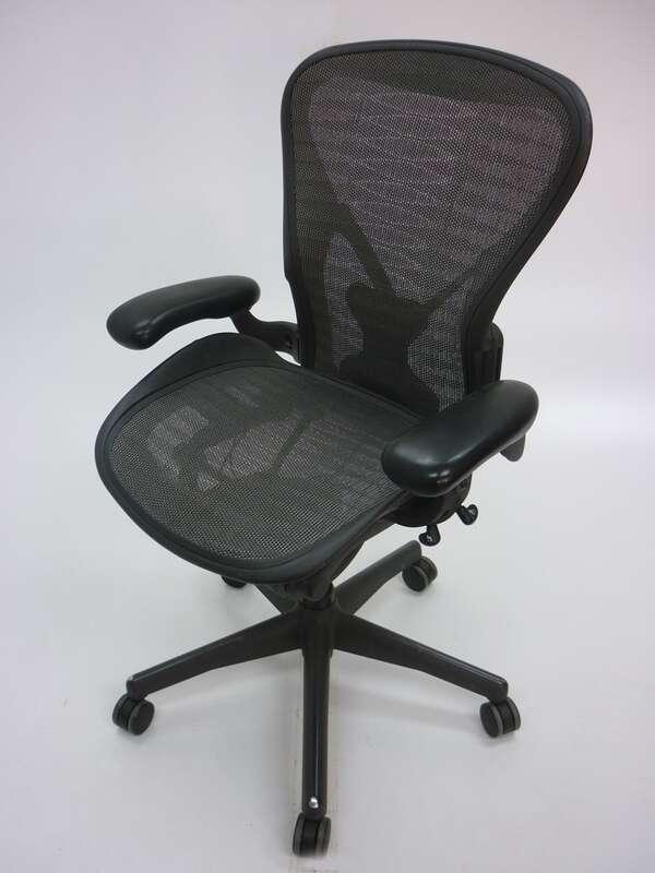 Herman Miller tuxedo Aeron task chair