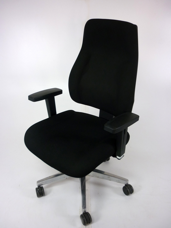 Topstar Trendstar black operator chair with arms