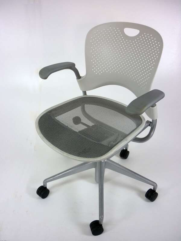 Herman Miller Casper white task chair