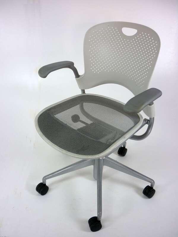 Herman Miller Caper white task chair