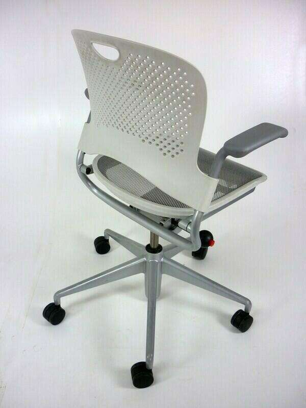 Herman Miller Caper white task chair