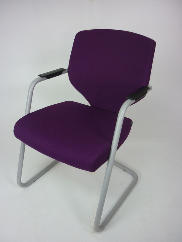 Pledge Quintessential purple meeting chairs