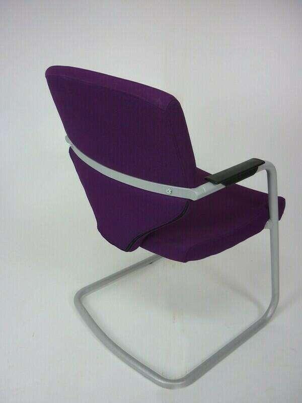 Pledge Quintessential purple meeting chairs
